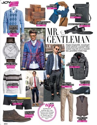 Joy Vásárlási Láz Street Fashion AW13 2/3