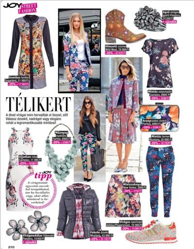 Joy Vásárlási Láz Street Fashion AW12 3/3