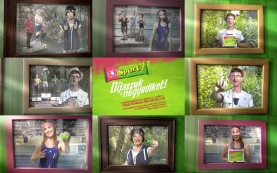 Sportszelet reklám 2013