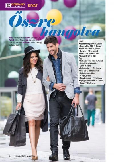 Corvin Plaza Magazin Zipyvel